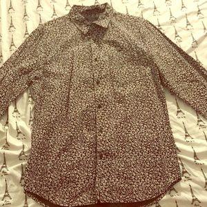 Long sleeved button up shirt